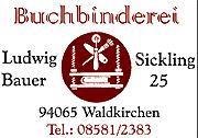 Buchbinder Bauer
