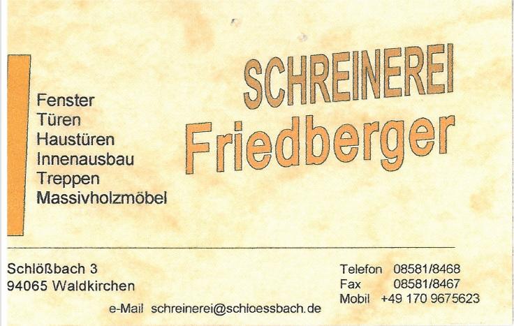 FriedbergerSchreinerei