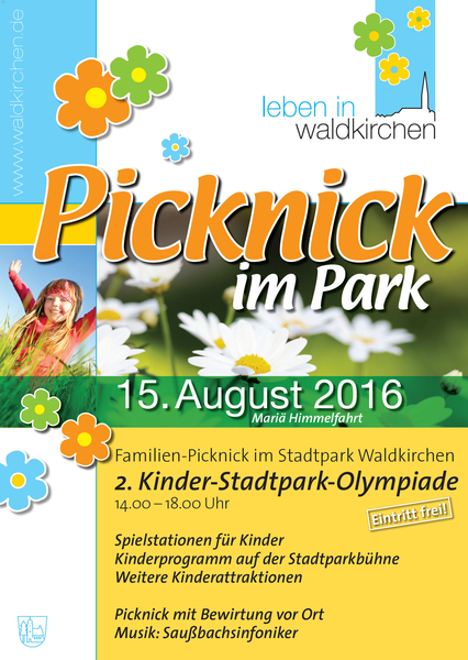 Picknick im Park Flyer