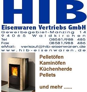 HIB-Logo mit Pelletofen