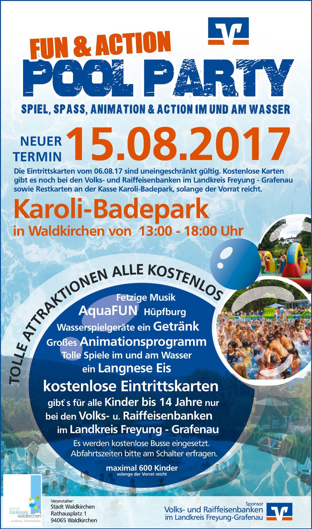 Bayerischer Wald Karte Kostenlos.Neuer Termin Für Poolparty 15 08 2017 Waldkirchen Im Bayerischen